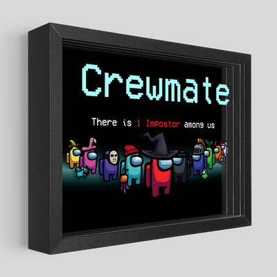 Among Us: Crewmate Shadowbox Art