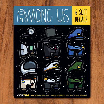 Among Us: Art Tile Crewmate Decals - Skins