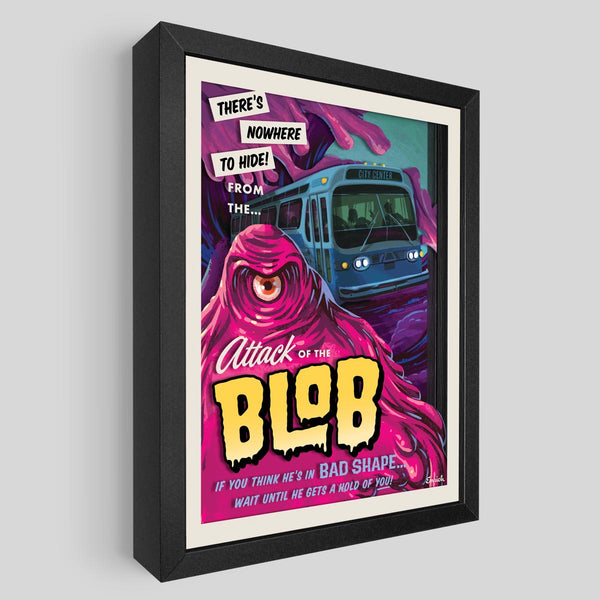 The Blob Shadowbox Art
