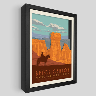 Bryce Canyon National Park Shadowbox Art