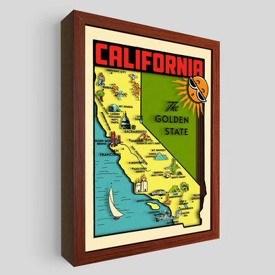 California Shadowbox Art
