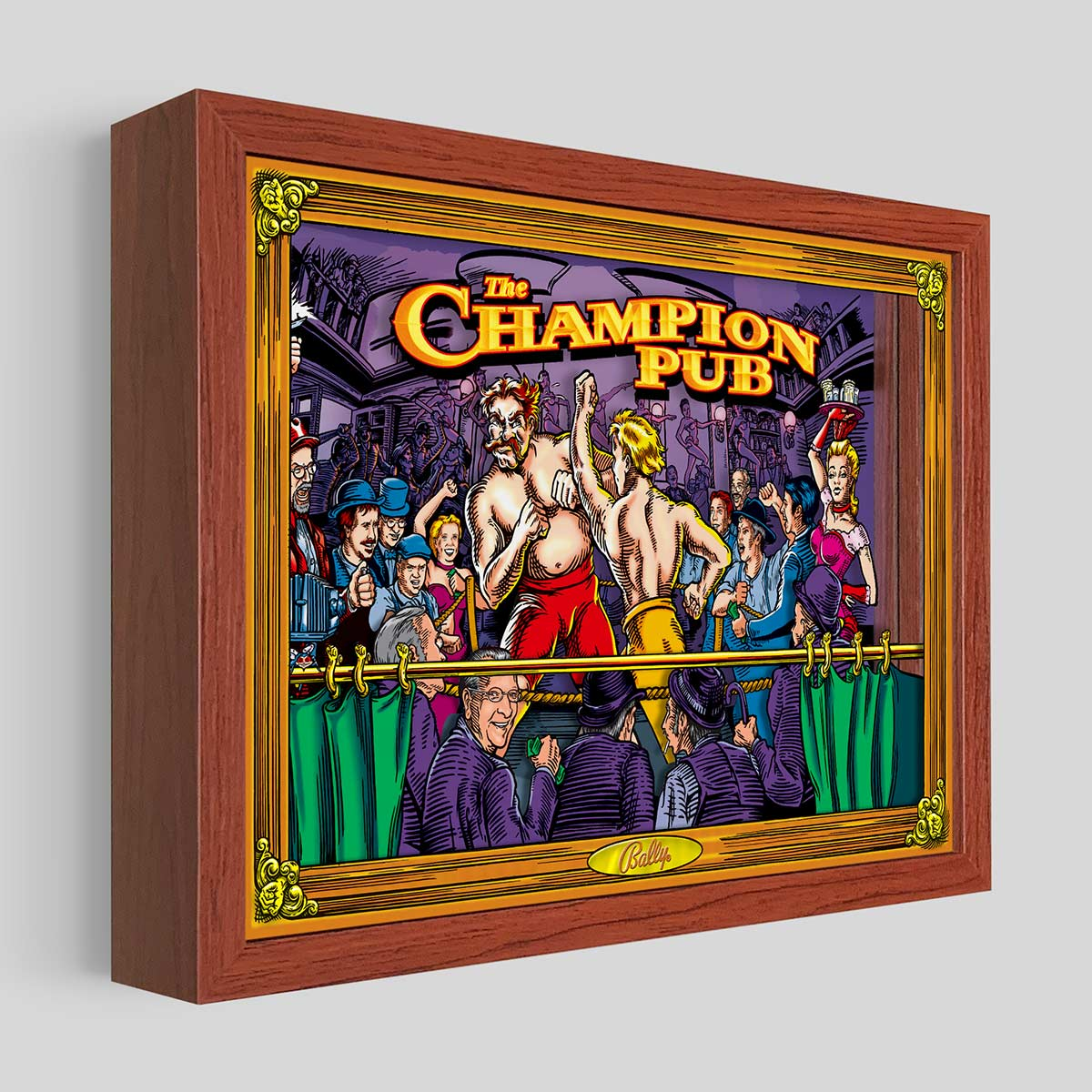 Champion Pub Shadowbox Art