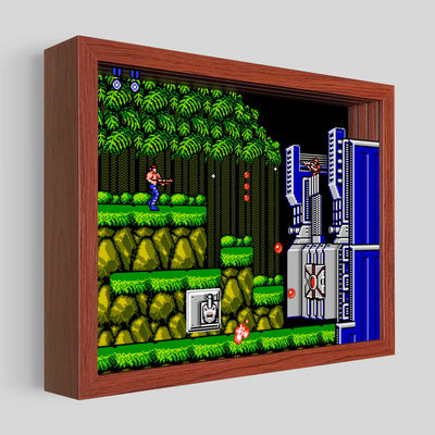 Contra Shadowbox Art