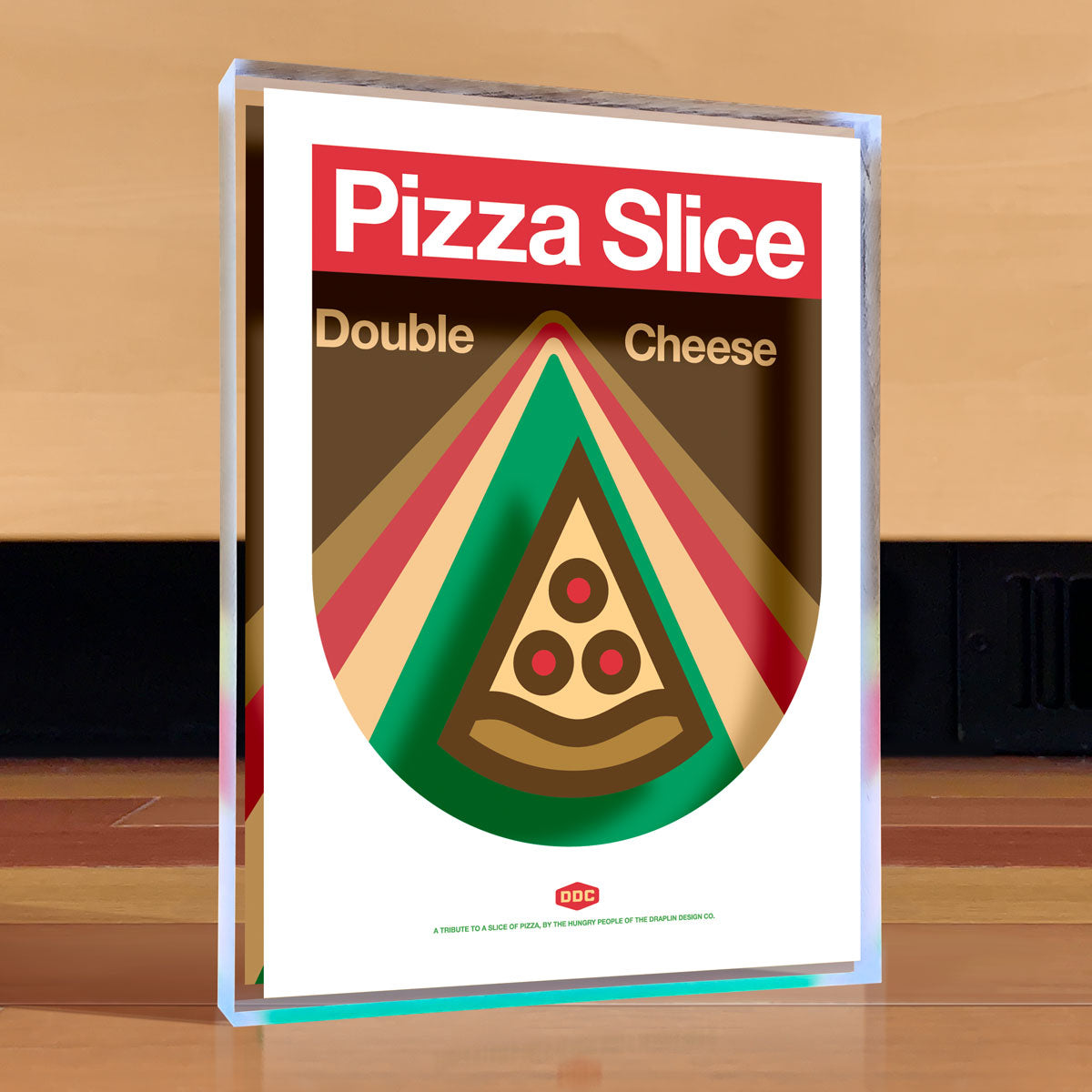 DDC Pizza Slice Desktop Art