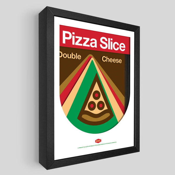 DDC Pizza Slice Shadowbox Art