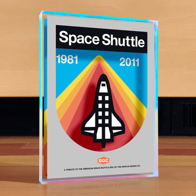 DDC Space Shuttle Desktop Art