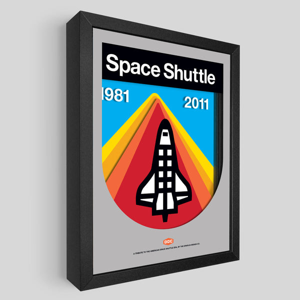 DDC Space Shuttle Shadowbox Art