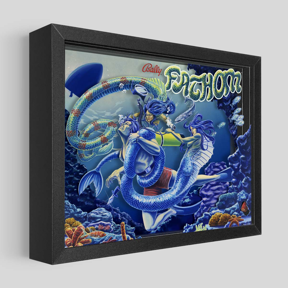 Fathom Shadowbox Art