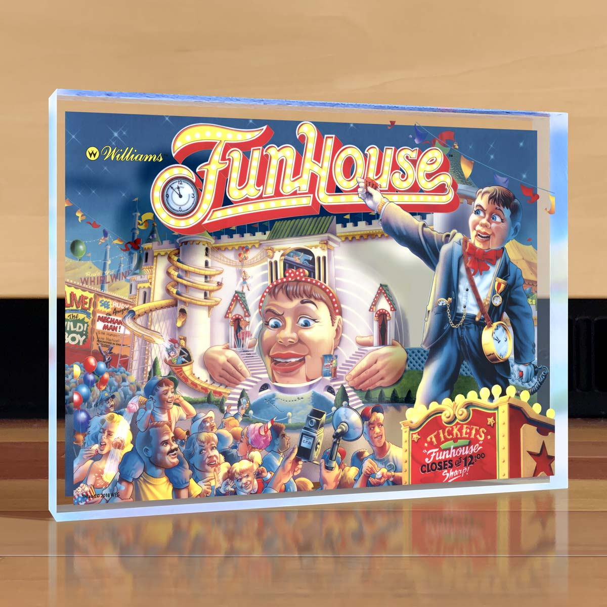 Funhouse Desktop Art