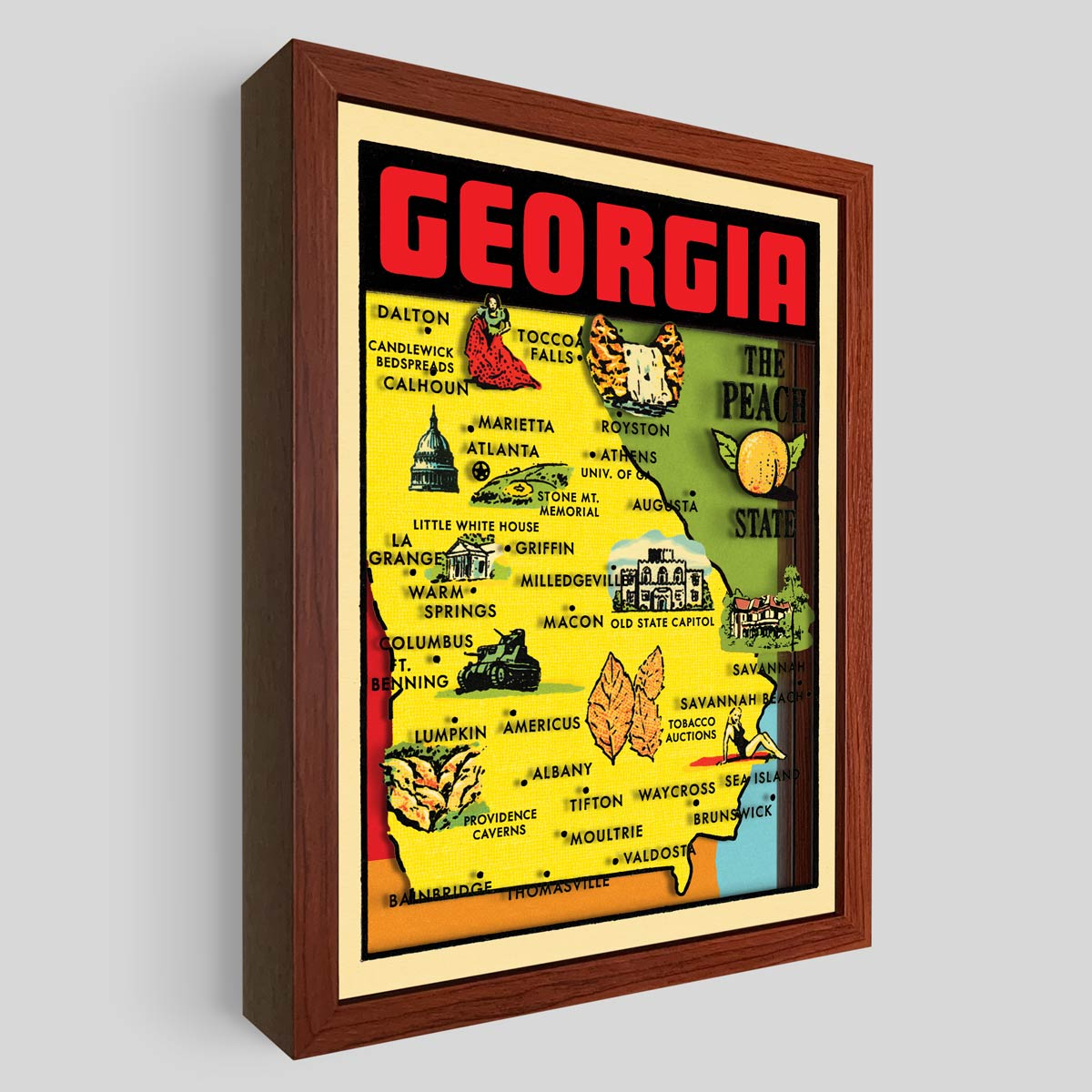 Georgia Shadowbox Art