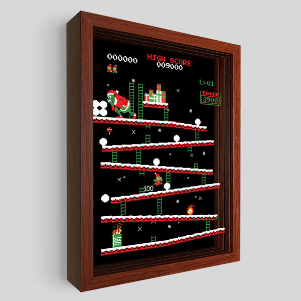 Grinchy Kong Shadowbox Art