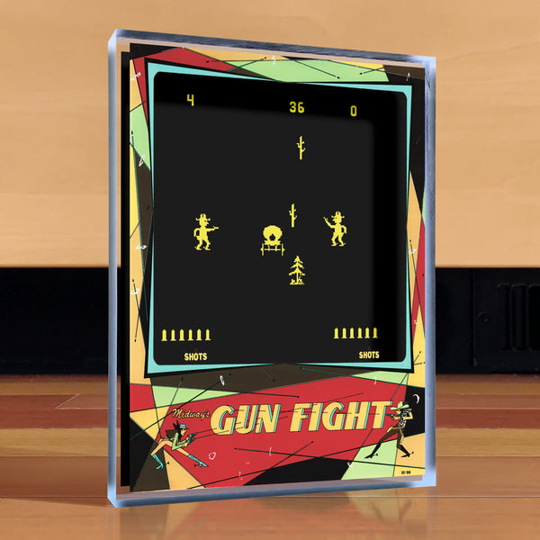 Gun Fight Desktop Art