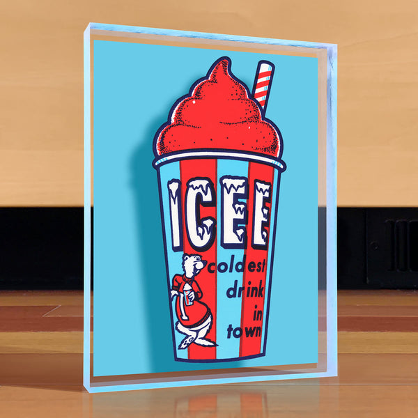 ICEE Treat Desktop Art