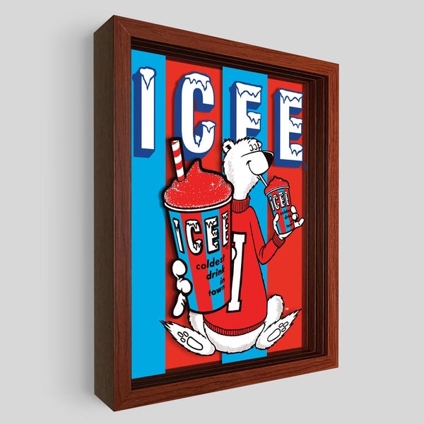 ICEE Shadowbox Art