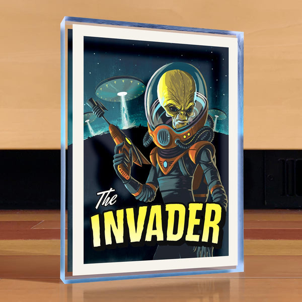 The Invader Desktop Art