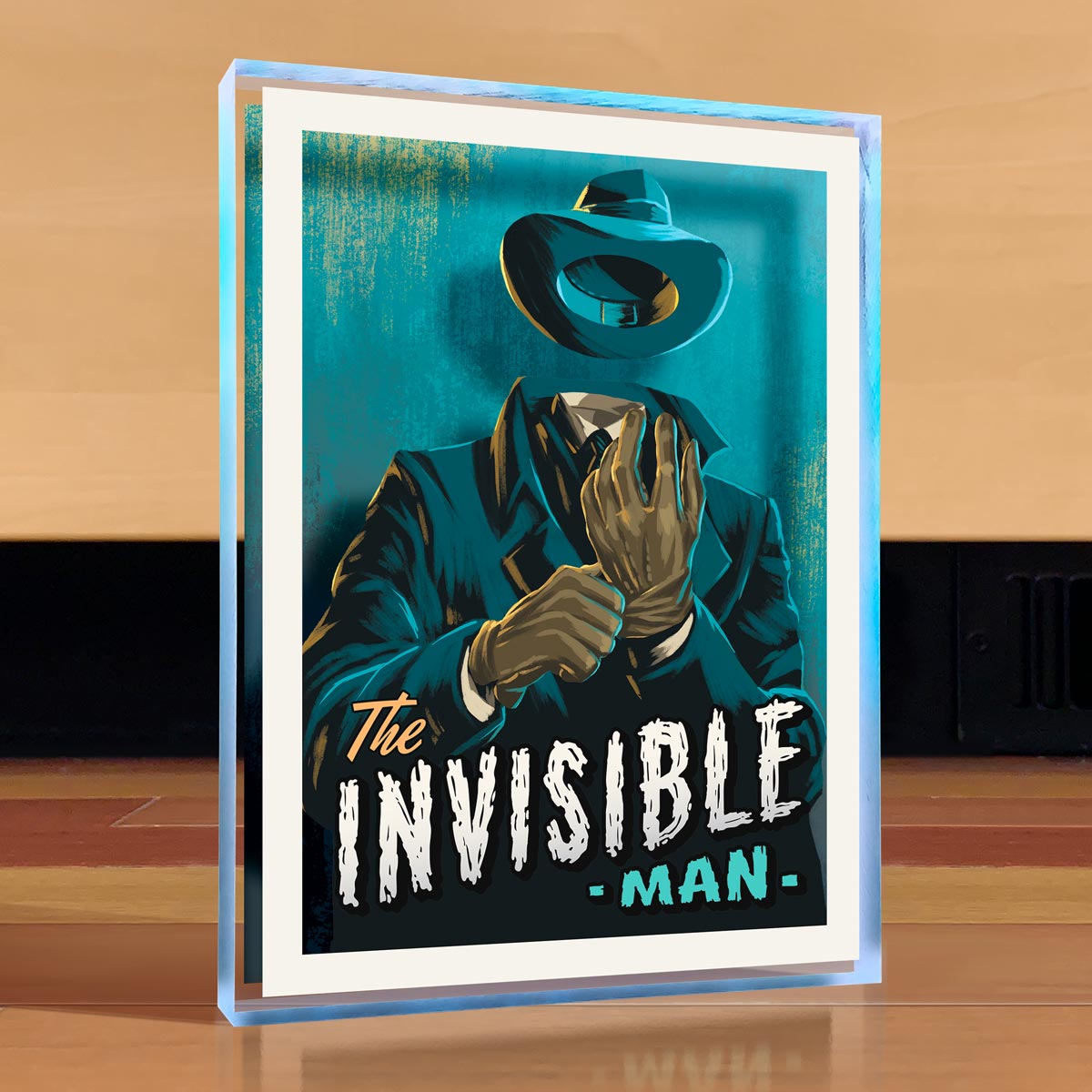 Invisible Man Desktop Art