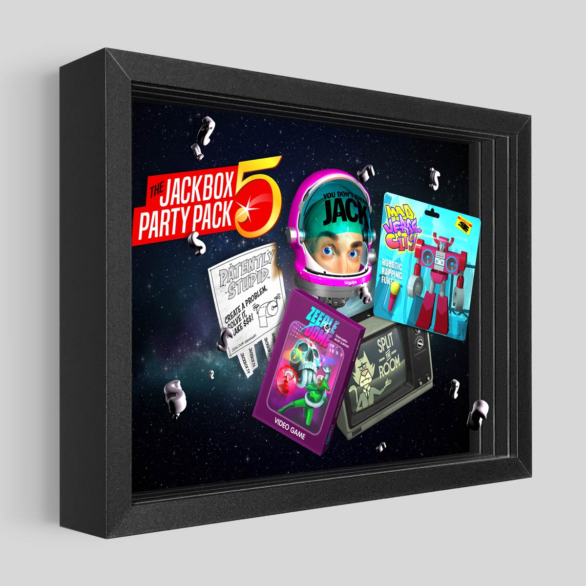 Party Pack 5 Shadowbox Art