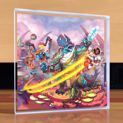 KeyForge Worlds Collide Desktop Art