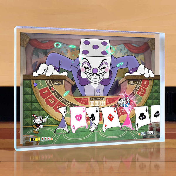 Cuphead King Dice Desktop Art