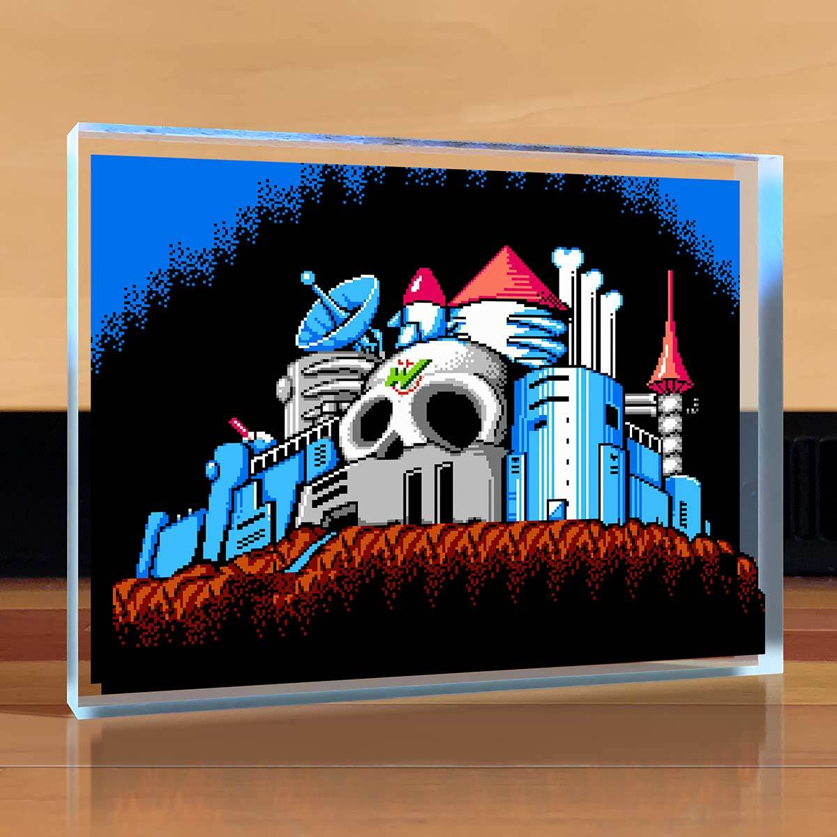 Mega Man 2 - Dr. Wily's Castle Desktop Art