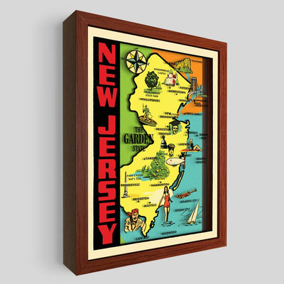 New Jersey Shadowbox Art