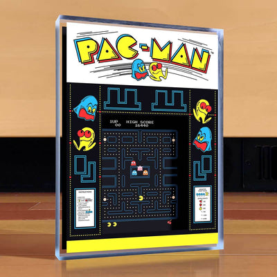 Pac-Man Desktop Art