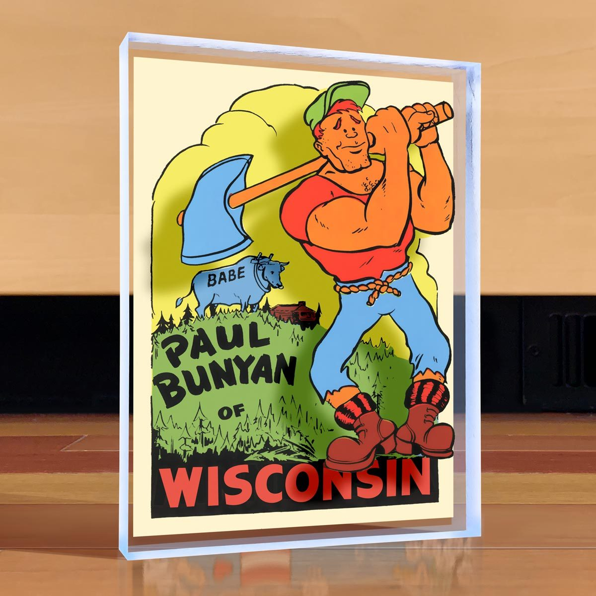 Paul Bunyan Desktop Art
