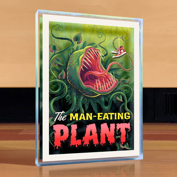 Man Eating Plant Desktop Art