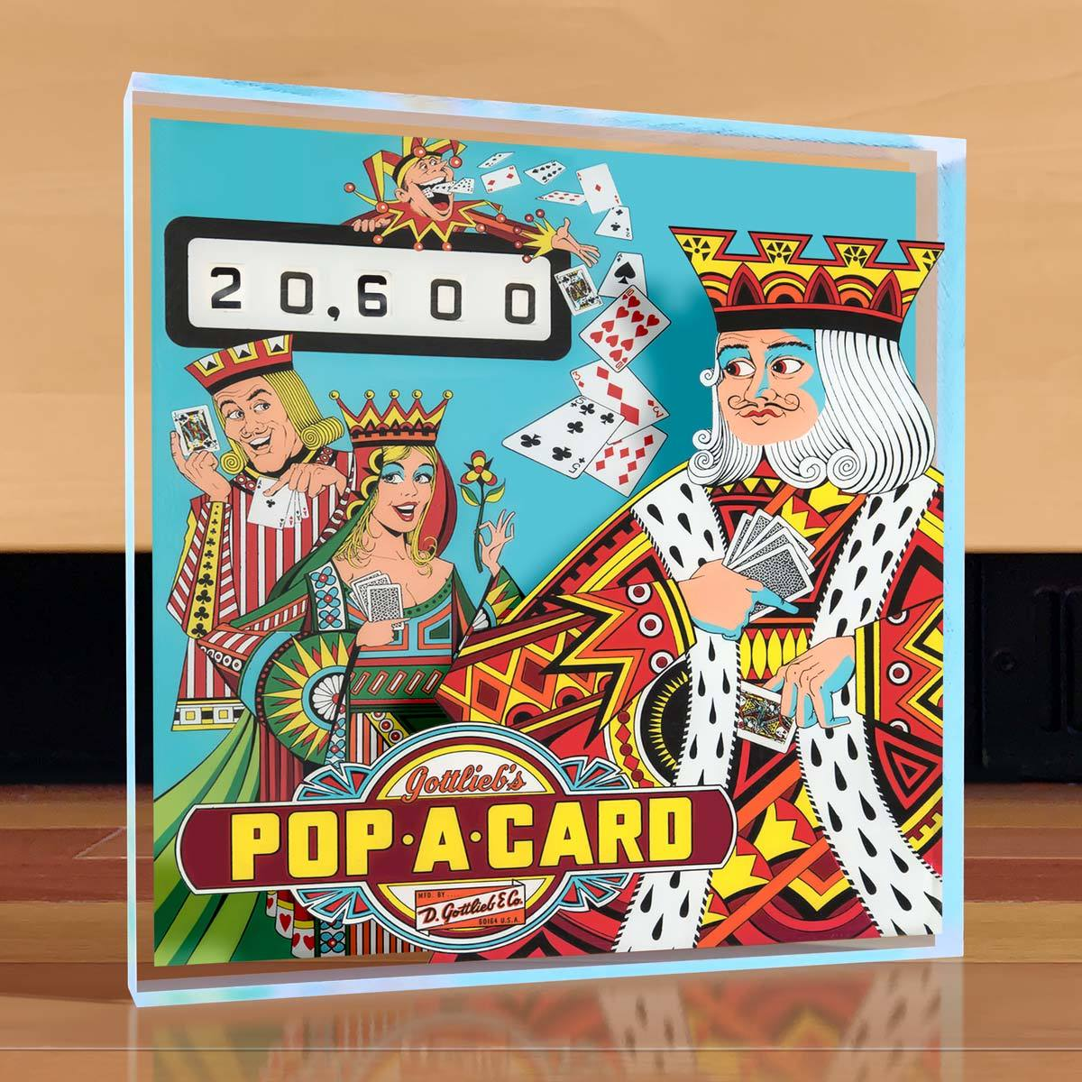 Pop-a-Card Pinball Desktop Art