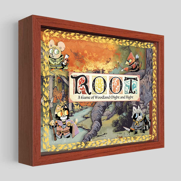 Root Shadowbox Art