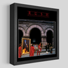 Rush Moving Pictures Shadowbox Art