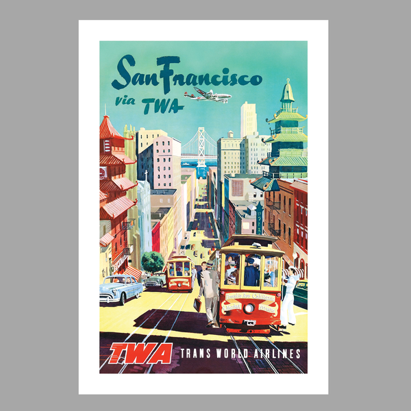 TWA San Francisco Art Print