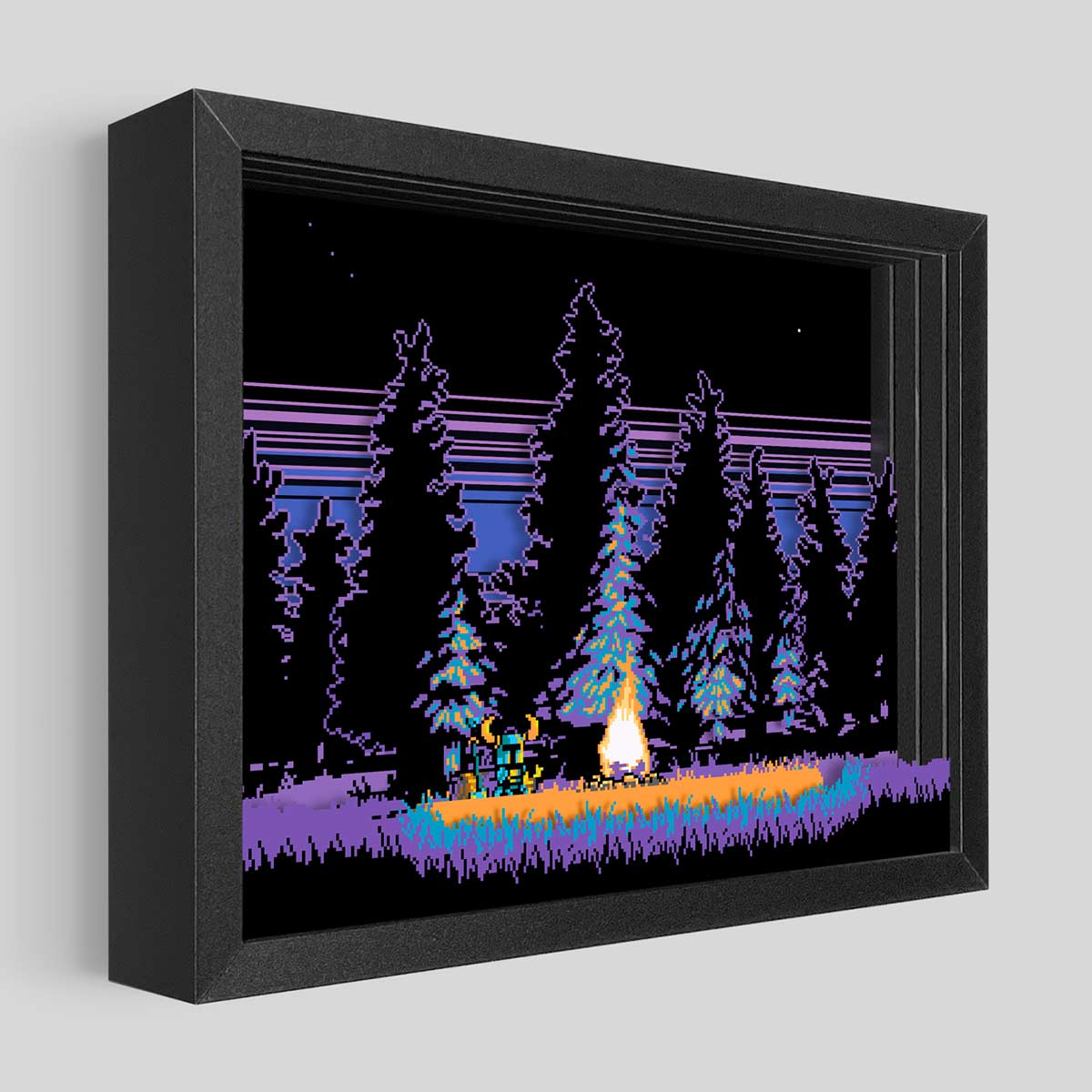 Shovel Knight Shadowbox Art