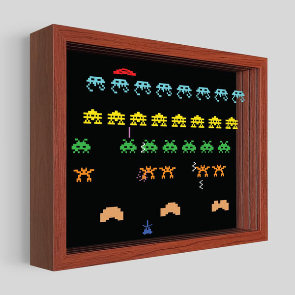 Space Armada Shadowbox