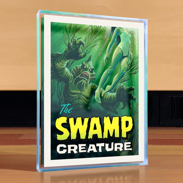 Swamp Creature Desktop Art