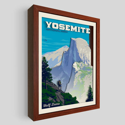 Yosemite National Park Shadowbox Art