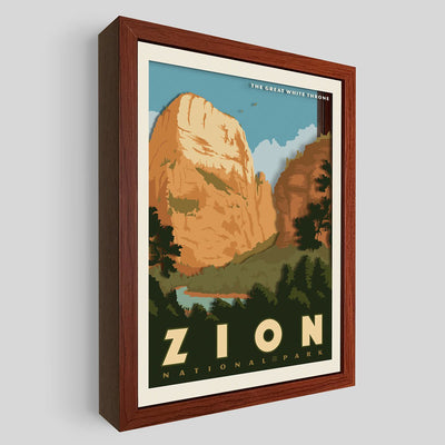 Zion National Park Shadowbox Art