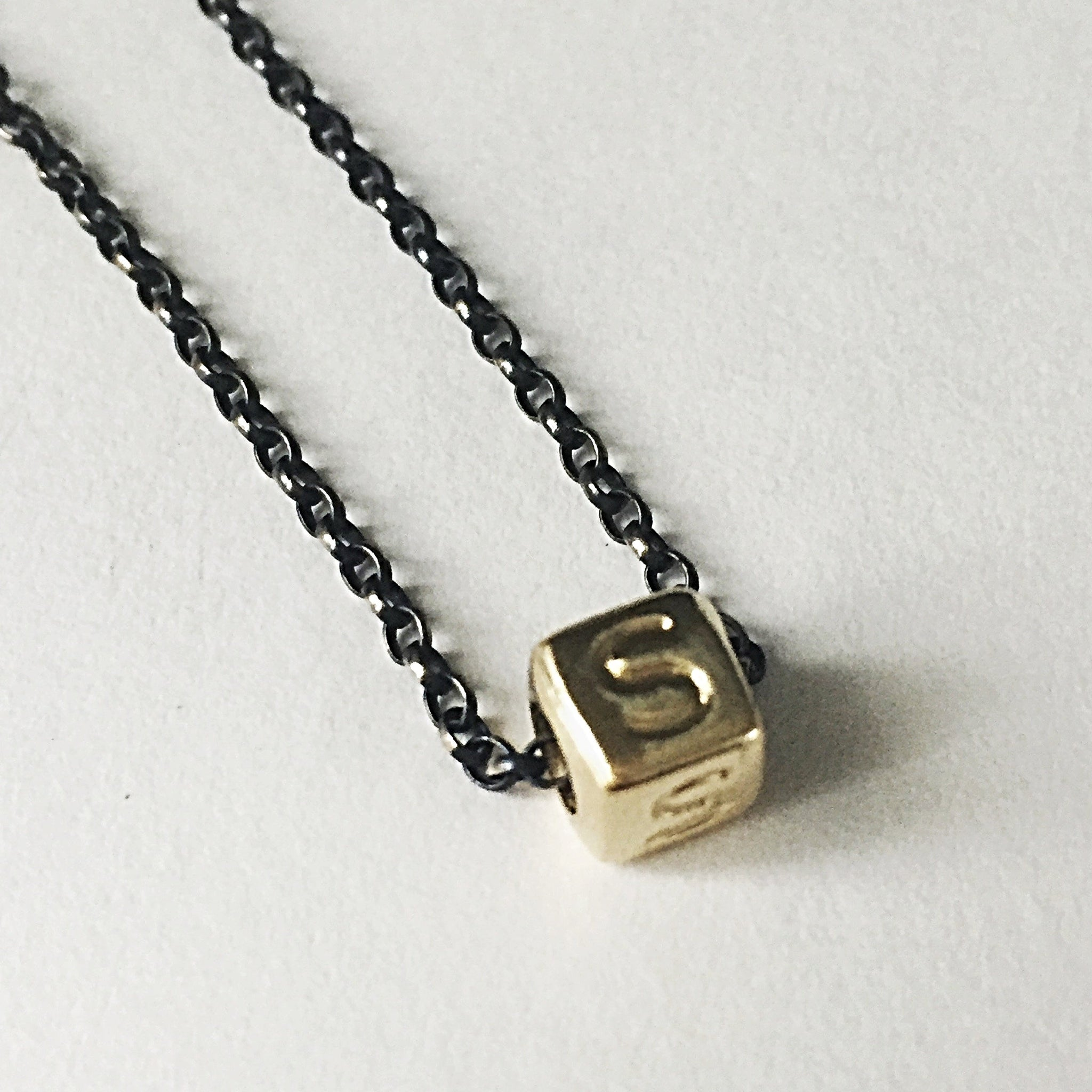 products a glared necklace the alphabet gold letter necklaces
