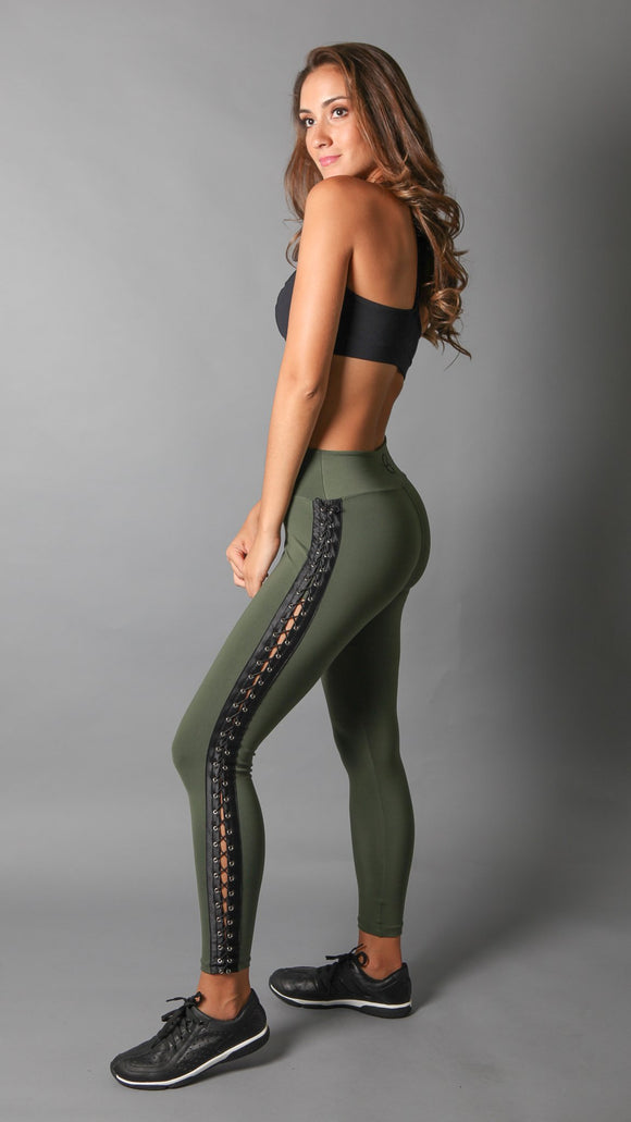 EQUILIBRIUM High Waist Legging with ties on the side