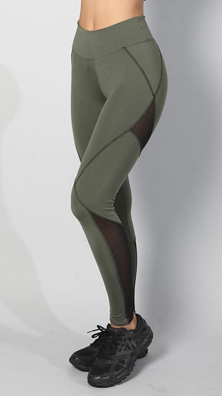 EQUILIBRIUM Army Green Leggings