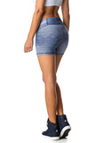SHORTS 22 YOU BY YOU DENIM BLUE