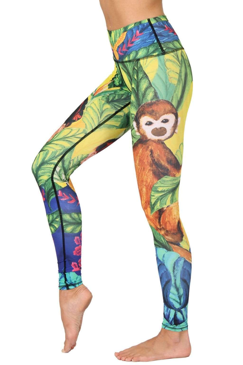 Yoga Democracy Leggings Frida Printed Yoga Leggings