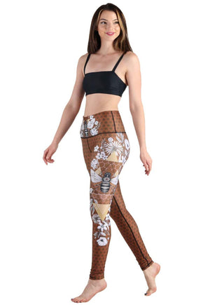 Beeloved Printed Yoga Legging