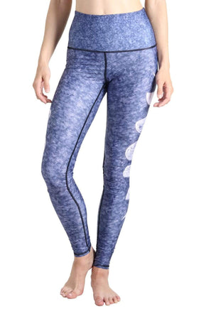 Yoga Democracy Leggings Just a Phase Printed Yoga Legging