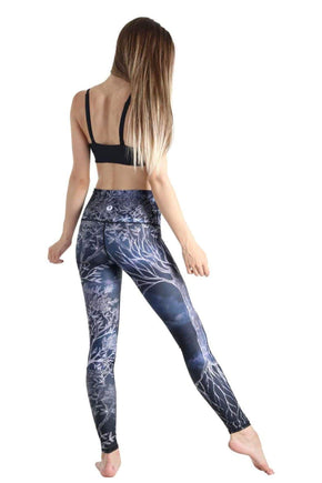 Yoga Democracy Leggings Root to Rise Printed Yoga Legging