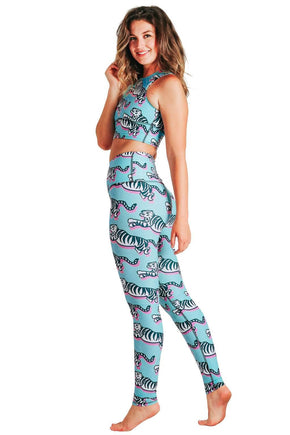 Tiger Queen Printed Yoga Leggings