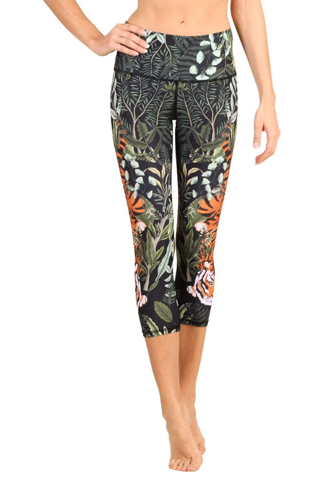 Yoga Democracy Leggings Rawr Talent Printed Yoga Crops