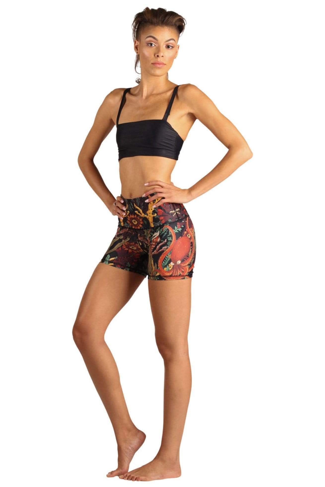 Yoga Democracy Shorts Joey Short in Coral My Name