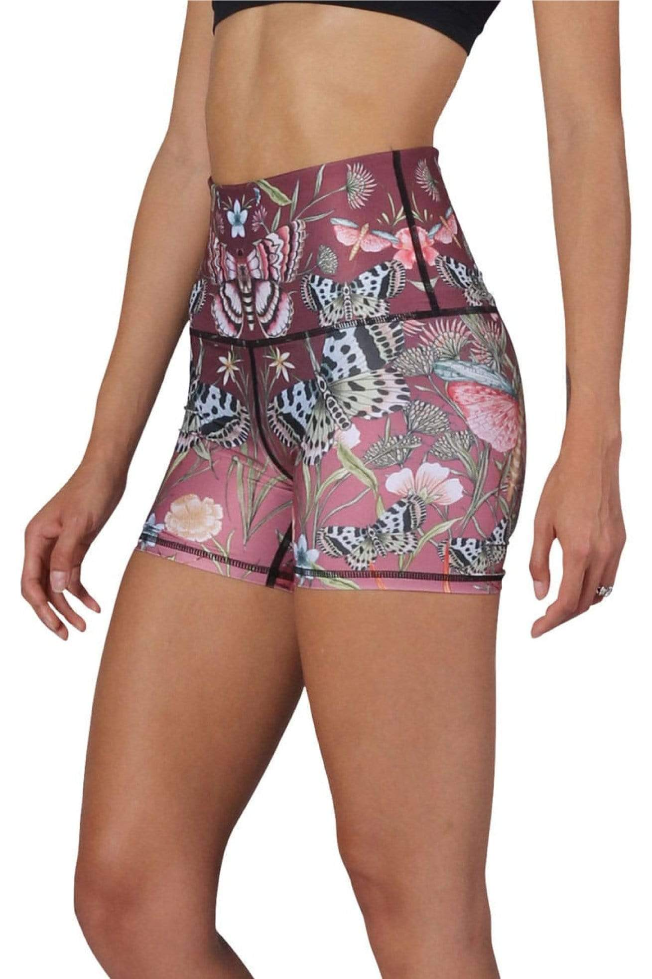Yoga Democracy Shorts Joey Short in Pretty in Pink