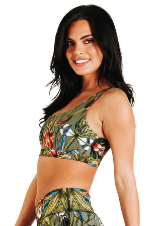 Everyday Sports Bra in Green Thumb | Medium Support, A–E Cups